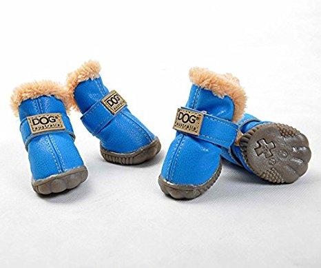 Mp Erra Blau Hundeschuhe 4 Stk Socken Und Schuhe