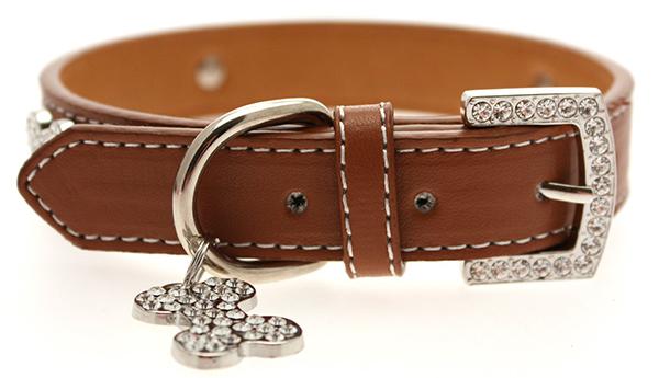 up brown boney halsband halsb nder geschirre outlet chi co shop f r hundemode. Black Bedroom Furniture Sets. Home Design Ideas