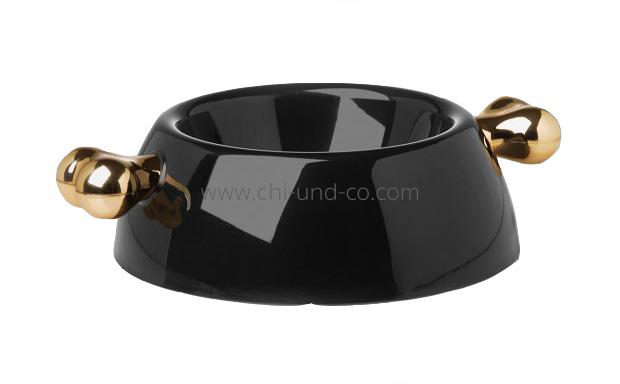 Atrium signature schwarz gold napf n pfe essen chi for Polster outlet essen